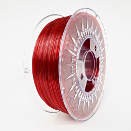 Filament PETG - Rubinrot...