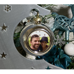 Vianočná guľa s vlastnou...