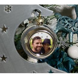 Weihnachtskugel mit Foto