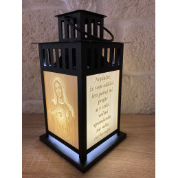 3D Lamp with photo and text