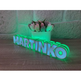 LED Lamp with name